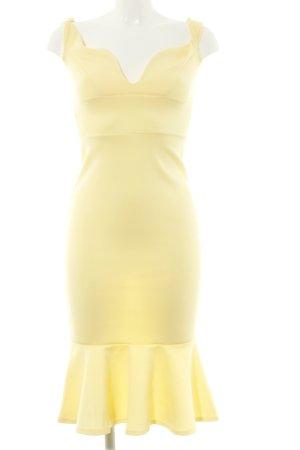 Boohoo Abendkleid blassgelb Elegant
