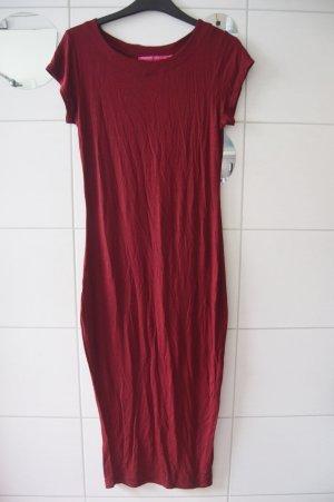 Boohoo Maxi-jurk karmijn