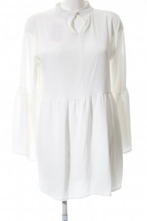Boohoo Blouse Dress natural white-cream Boho look