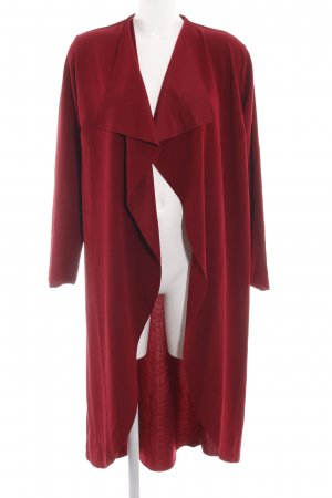 Boohoo Cardigan rot Casual-Look