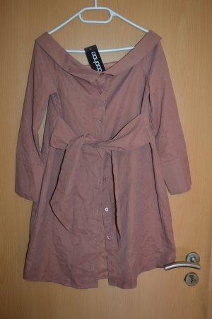 Boohoo Shirtwaist dress pink