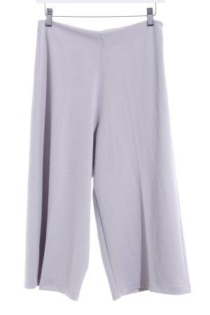Boohoo Pantalone culotte grigio-lilla stile semplice