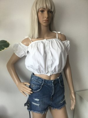BOOHOO Damen Kurzes Top Bluse Gr.38