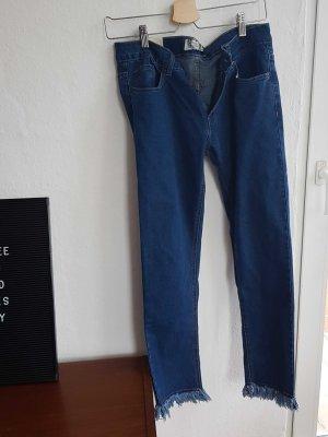 boohoo denim fransen jeans 38