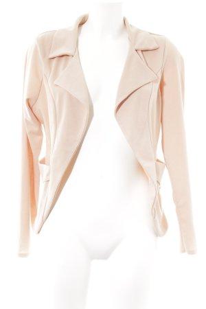 Boohoo Jersey blazer stoffig roze boyfriend stijl