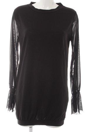 Boohoo Jerseykleid schwarz Elegant