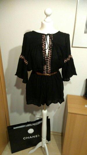 Boohoo Jumpsuit / Overall Gr.38/40+Gürtel+Chanel Tüte