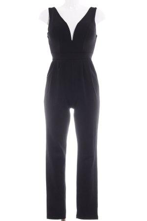 Boohoo Jumpsuit schwarz Elegant