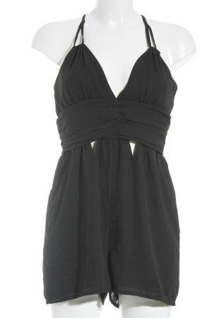 Boohoo Jumpsuit zwart elegant