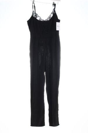 Boohoo Jumpsuit schwarz Eleganz-Look