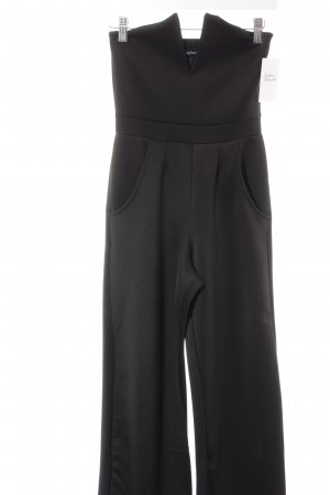 Boohoo Jumpsuit schwarz Street-Fashion-Look