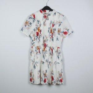 Boohoo Kleid Gr. 38 weiß gemustert (19/04/327)