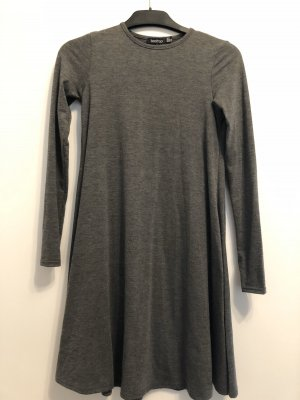 Boohoo Jersey Dress grey