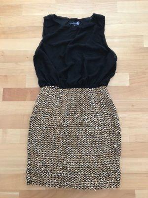 Boohoo Mode zwart-goud Polyester