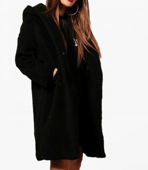 Boohoo Oversized Coat multicolored