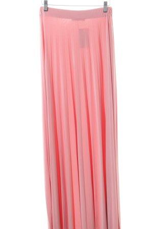 15f16ba6e70b Boohoo Maxirock pink Allover-Druck Casual-Look