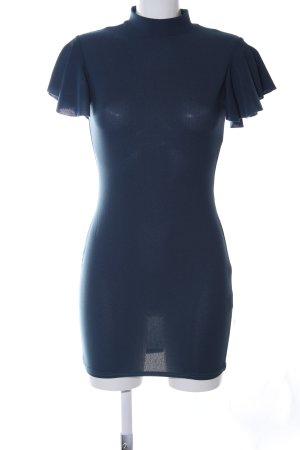 Boohoo Minikleid blau Casual-Look
