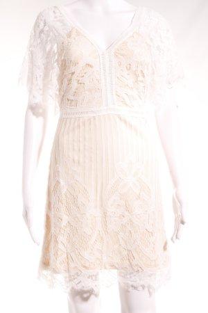 Boohoo Minikleid weiß-nude Elegant