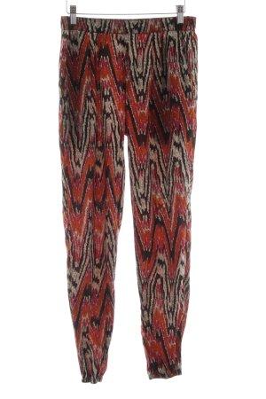 Boohoo Pantalone bloomers Stampa ikat stile hippie