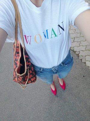Boohoo Shirt T-Shirt Statement Woman