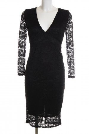 Boohoo Lace Dress black elegant