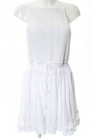 Boohoo Lace Dress white casual look