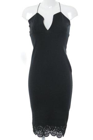 Boohoo Stretchkleid schwarz Elegant