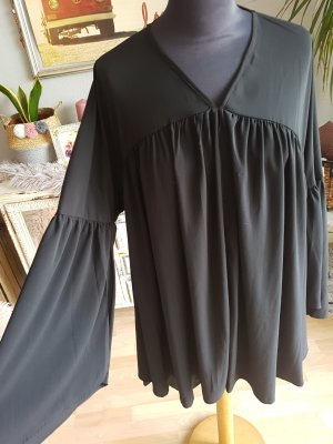 Boohoo Tunic Blouse black