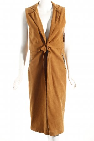 Boohoo Vest lichtbruin straat-mode uitstraling