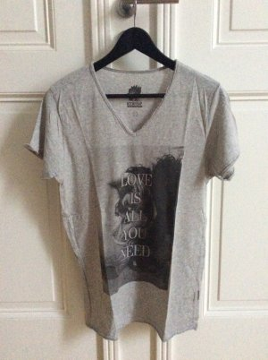 Boom Bap Graues T- Shirt mit Motiv