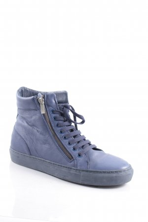 Boom bap High Top Sneaker dunkelblau sportlicher Stil