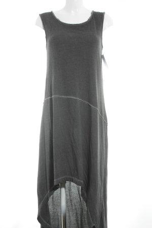 Boom bap Long Shirt dark grey-light grey simple style
