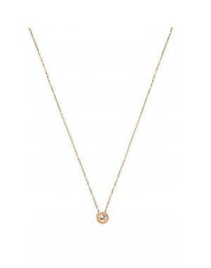 BOOOOM!!!!!!NEW ONE Filigrane Diamant Halskette 10k Rosegold mit Diamant Anhänger - NEU und ungetragen!