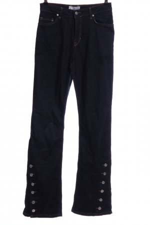 "Boot Cut Jeans ""Blanche"" dark blue"