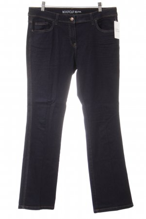 Boot Cut Jeans dunkelblau Casual-Look
