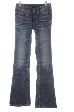 Boot Cut Jeans dunkelblau Casual-Look