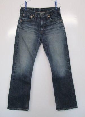 Boot Cut Jeans Hose Levis 507 Größe W30 L32  M 38 40 Dark Blue Washed Denim Used Levi`S Strauss Biker Western