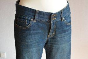 Tommy Hilfiger Jeans bootcut bleu foncé coton