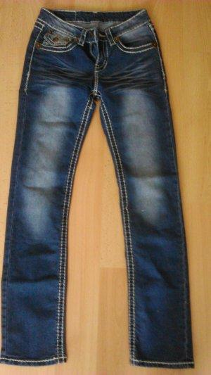 Bootcut Jeans in Blau
