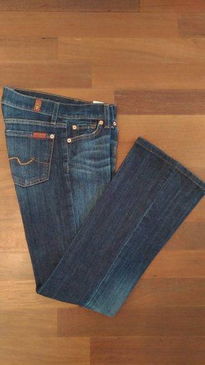 Bootcut-Jeans in dunkelblau