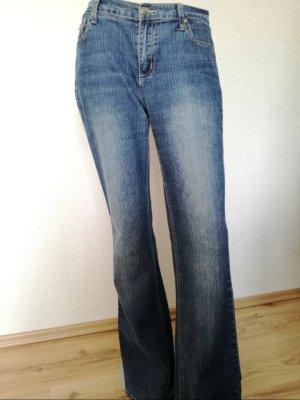 Bootcut Jeans Schlaghose Jeanshose
