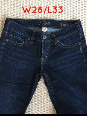 Bootcut - Jeans von Silver,  W28 L33