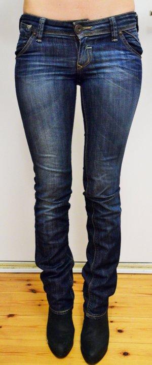 Bootcut Only Jeans im used-look Größe 26/34