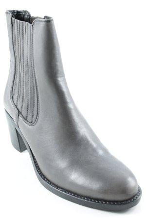 Botines gris antracita estilo sencillo