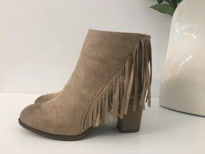 Boots beige-brown