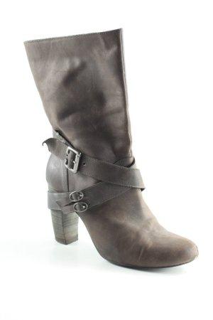 Booties graubraun Casual-Look