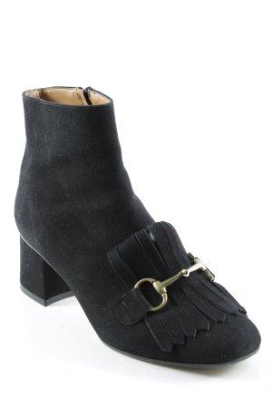 Booties schwarz Street-Fashion-Look