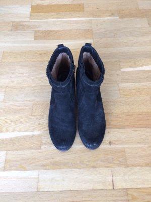 Booties / Stiefeletten Gr. 38,5 in schwarz