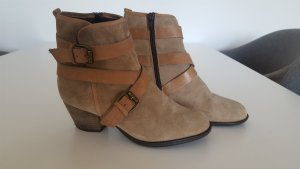 Aldo Chelsea Boot marron clair-crème