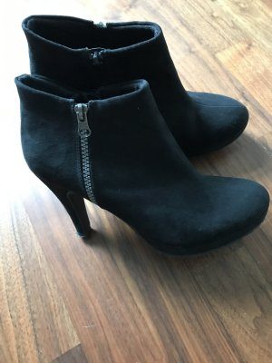 H&M Booties black synthetic